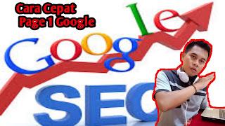 Cara Halaman 1 Google dalam 2 menit