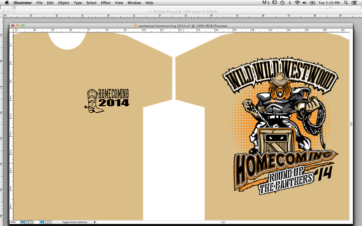 Order Your Homecoming T Shirt Today!
