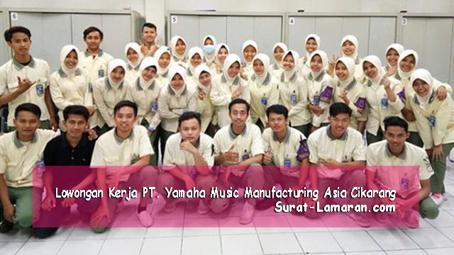 Lowongan Kerja Operator PT. Yamaha Music Manufacturing Asia Cikarang