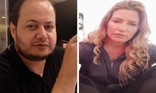 فيديو سمير الوافي و مريم بن مامي meriem ben mami samir elwafi