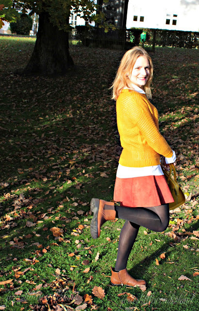 knitwear, josie´s little wonderland, outfit, fashion, blog, fashionpost, autumcolours