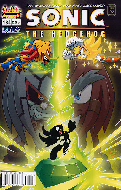 Sonic The Hedgehog Issue 184 [Español] [Rinoa83]