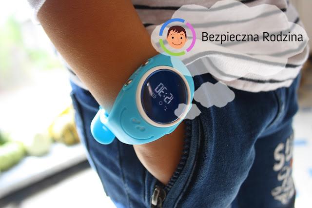 LOCON ZEGAREK WODOODPORNY GPS - Zadbaj o bezpieczeństwo swojego dziecka!