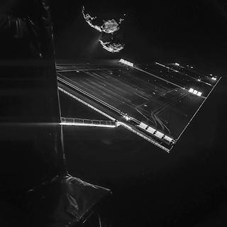 selfie rosetta cometa ESA