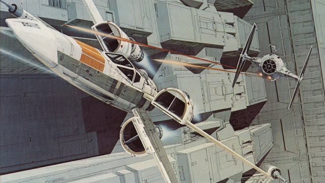 Ralph McQuarrie death star trench