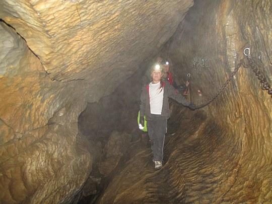 Jaskinia Mylna. Wielki Chodnik.