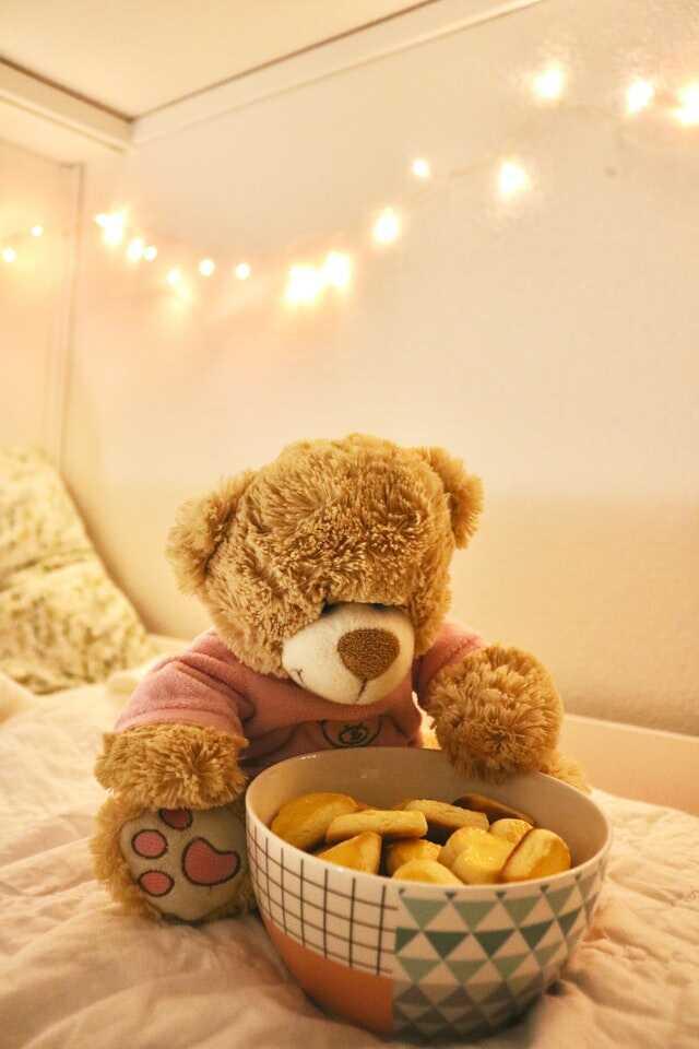 Cute Teddy Bear Wallpaper Free Download