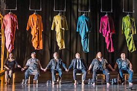 Martinu: The Greek Passion - Magdalena Molendowska, Richard Mosley-Evans, Paul Nilon, Rhodri Prys Jones, Nicky Spence, Jeffrey Lloyd-Roberts- Opera North (Photo Tristram Kenton)