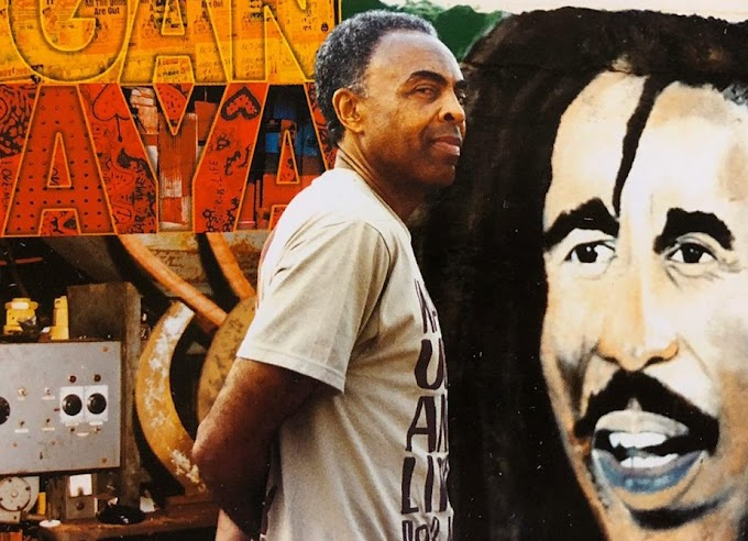 Gilberto Gil é o cantor que popularizou no Brasil o reggae de Bob Marley, artista morto há 40 anos