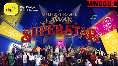 Live Streaming Muzikal Lawak Superstar 2019 Minggu 8