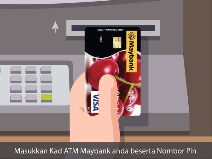 Cara Daftar Akaun Tabung Haji Ke ATM Kad Maybank