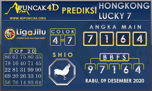 PREDIKSI TOGEL HONGKONG LUCKY 7 PUNCAK4D 09 DESEMBER 2020