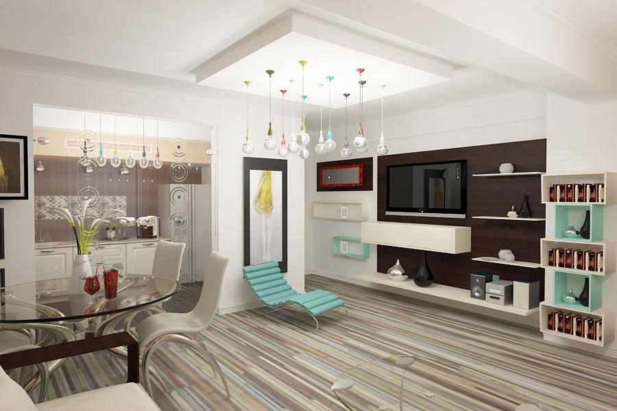 Design interior apartament modern | Amenajari interioare apartament cu 4 camere in Constanta