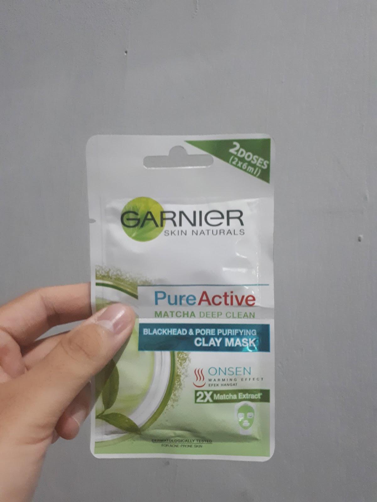 Review Garnier Pure Active Matcha Deep Clean Blackhead Pore Minyak Ijo Hijau Kalau Kalian Sering Baca Blog Saya Pasti Tahu Bahwa Pecinta Hal Yang Berbau Teh Pokoknya Ada Produk Entah Itu Makanan Minuman