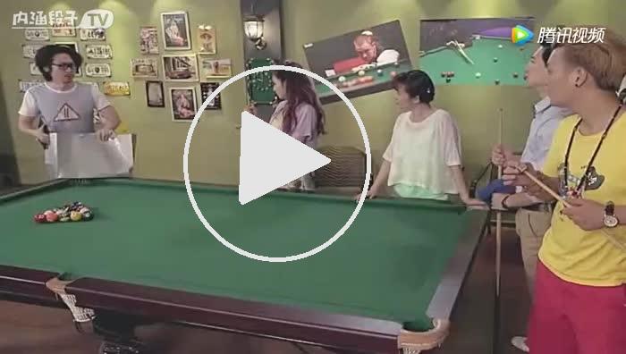Engineers playing Billiards.