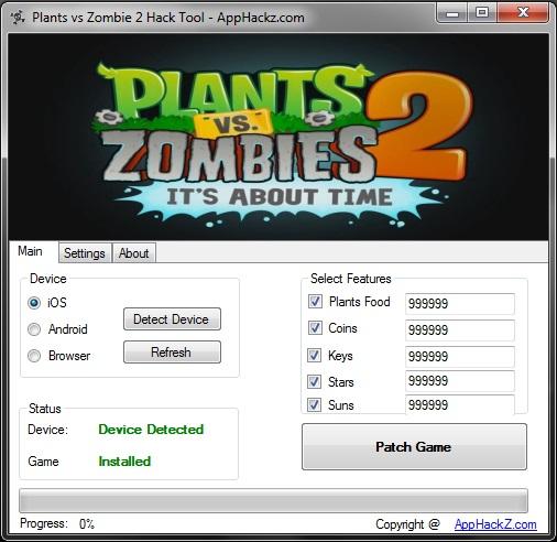 download plant vs zombie 2 hack