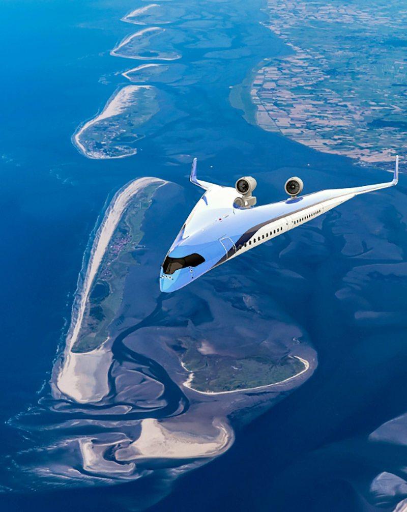 Exitoso vuelo inaugural de prototipo de avión con forma de V
