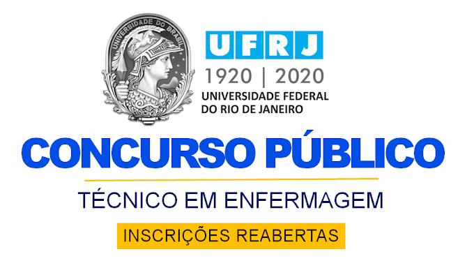 Últimos dias CONCURSO UFRJ 2021: inscrições reabertas! Salário de R$ 2.446,96 + benefícios