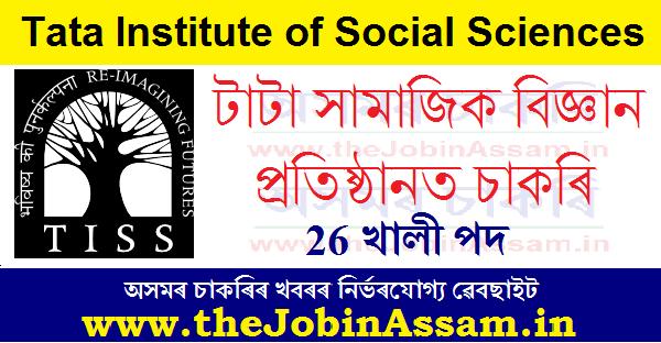 Tata Institute of Social Sciences Recruiting 2021