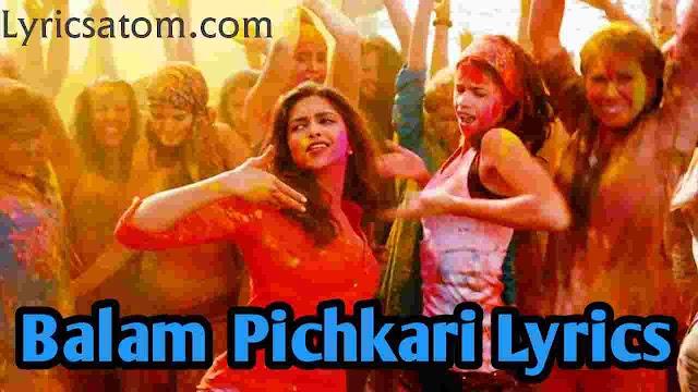 Balam Pichkari Lyrics Holi Special Song 2020