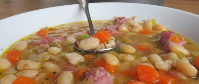 Bean & Ham Soup