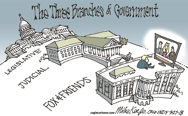Title:  The Three Branches of Government.  Image:  Picture of Capitol (labelled