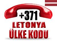 +371 Letonya ülke telefon kodu