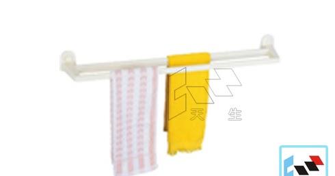 Modern 摩登衛浴 A-30 雙桿毛巾架(塑) ~ 天生水電材料行 三久太陽能熱水器高雄經銷服務中心