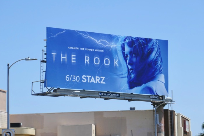 Rook series premiere billboard