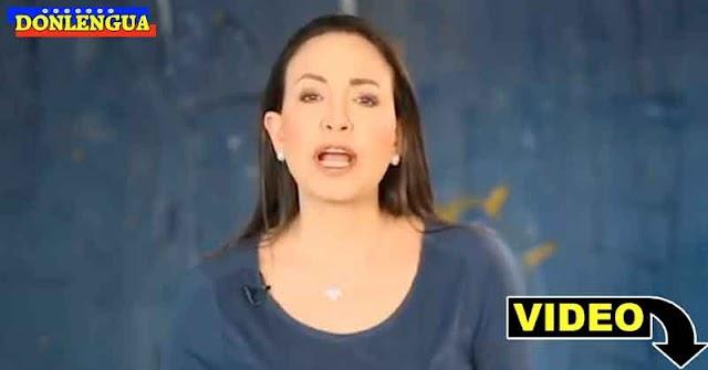 María Corina Machado es la única que parece estar intentando hacer algo por Venezuela
