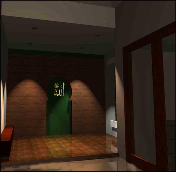 rumah 3 kamar 1 mushola