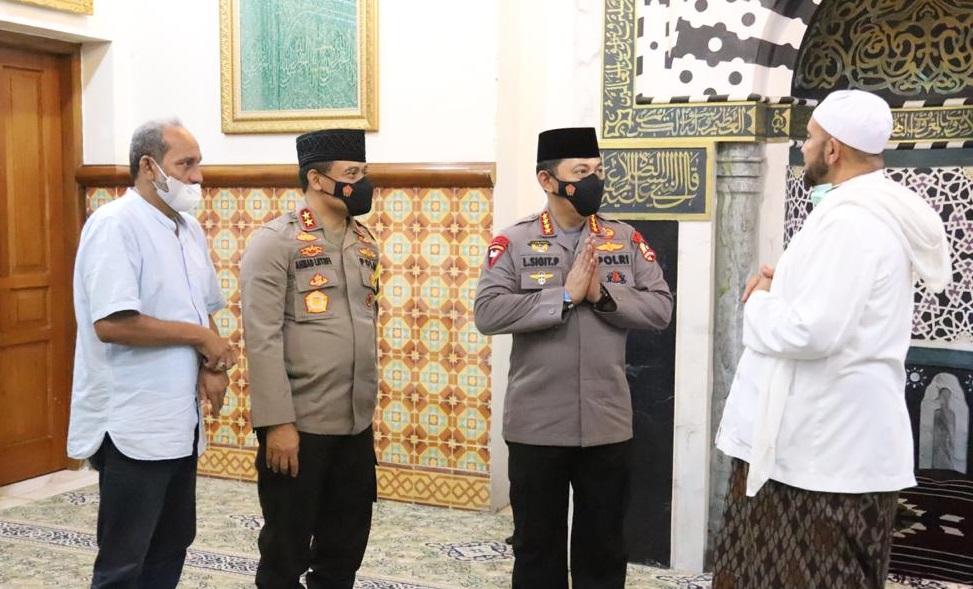 Temui Habib Syech, Kapolri Bicara Soal Penanganan Covid-19