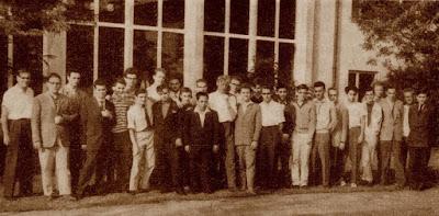 Ajedrecistas participantes en el V Campeonato Mundial juvenil