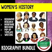 Women's History Month Resources Bundle