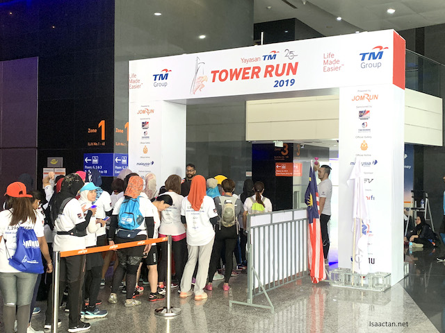 Yayasan TM Tower Run 2019