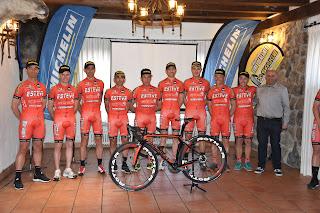 Plantilla 2019 Esteve Chozas Team