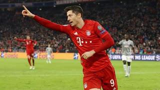 Lewandowski, Perisic Sends Bayern into Last-16