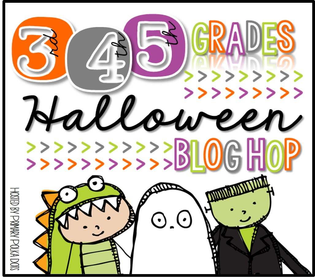 Halloween Blog Hop Freebies Peppy Zesty Teacherista