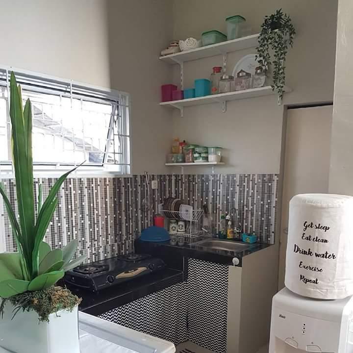 Dapur minimalis yang sangat multifungsi