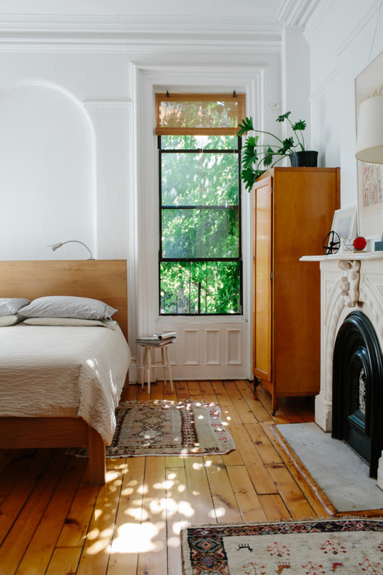 Interiors with a green view | Photo by Brian Ferry via Remodelista