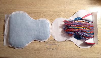 Adzik tworzy - Szycie DIY plecak jednorożec z klapką