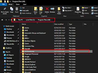 Hapus Folder EDS Dikdasmen
