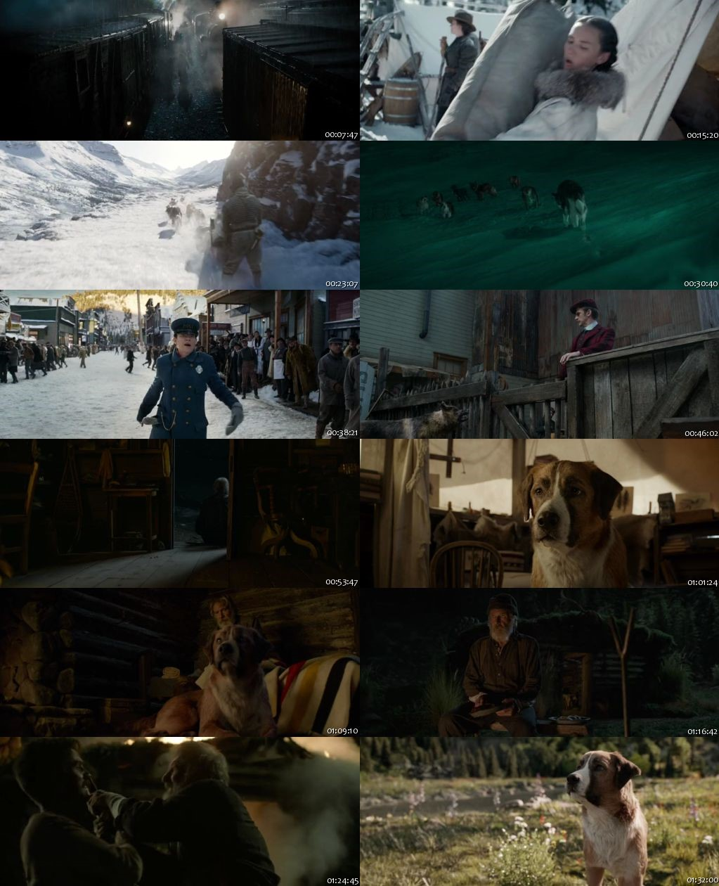 The Call Of The Wild 2020 HDRip 480p 300Mb [English]