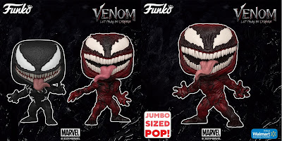 Venom: Let There Be Carnage Pop! Vinyl Figures by Funko
