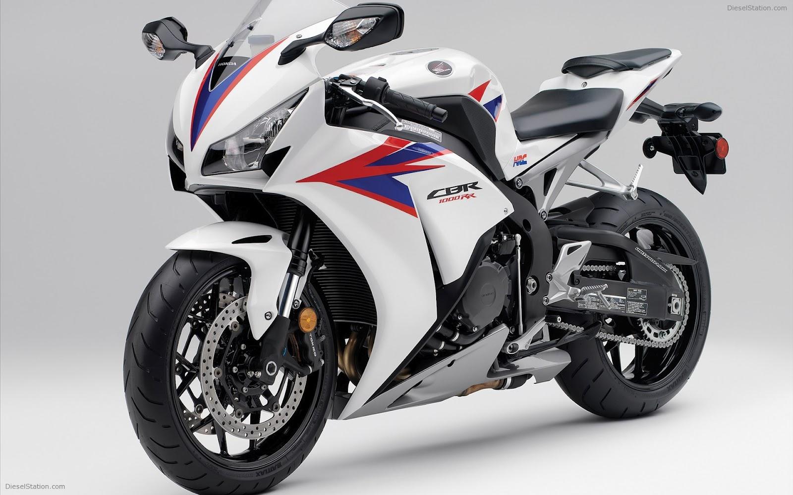honda cbr1000rr 2012 white front