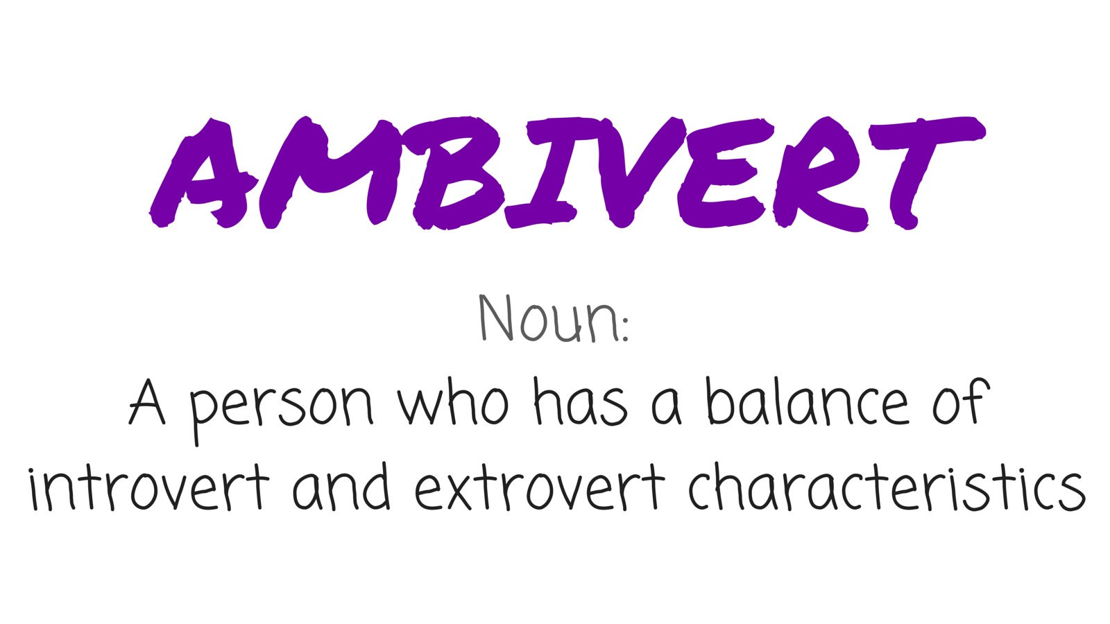 What is an ambivert