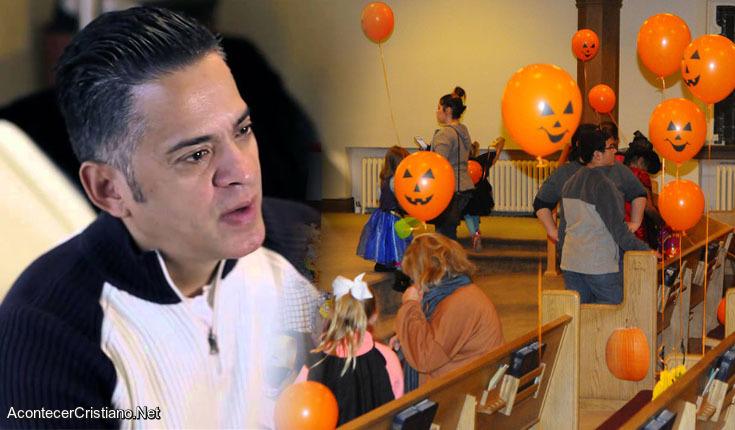 Ex satanista John Ramírez Halloween en iglesia