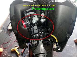 Cara pasang alarm motor Honda Genio 110