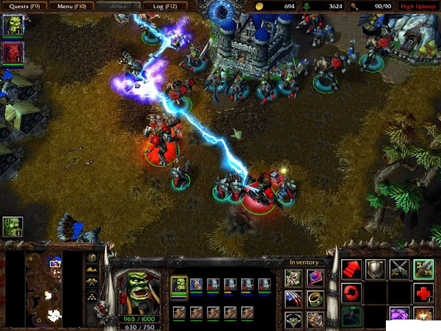 WarCraft 3 Reign of Chaos PC Games Gameplay