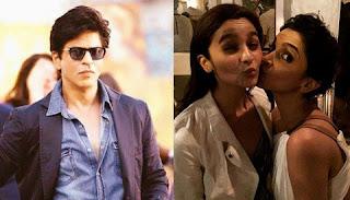 Who is the heroine in Shahrukh Khan's next film? Alia or Deepika?